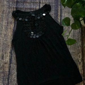 ❤️ BCBG Maxazria Black Sleeveless Blouse ❤️